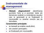 instrumentele de management37