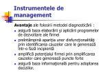 instrumentele de management40