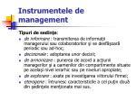 instrumentele de management42