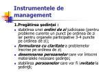 instrumentele de management44