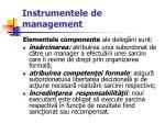 instrumentele de management51