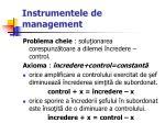 instrumentele de management52
