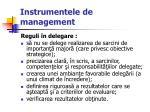 instrumentele de management53