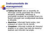 instrumentele de management56