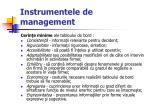 instrumentele de management57