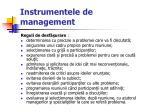 instrumentele de management60