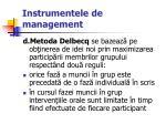 instrumentele de management65