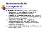instrumentele de management66