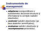 instrumentele de management8