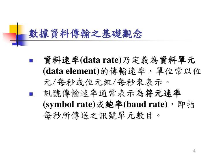 數據資料傳輸之基礎觀念