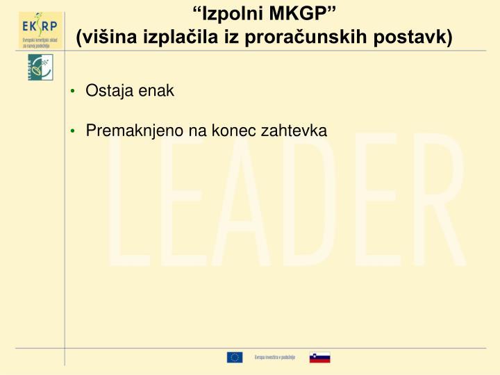 """""""Izpolni MKGP"""""""