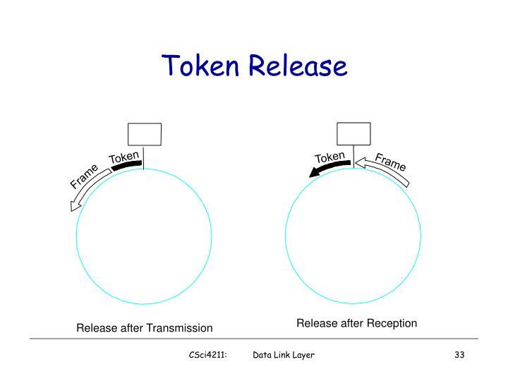 Token Release