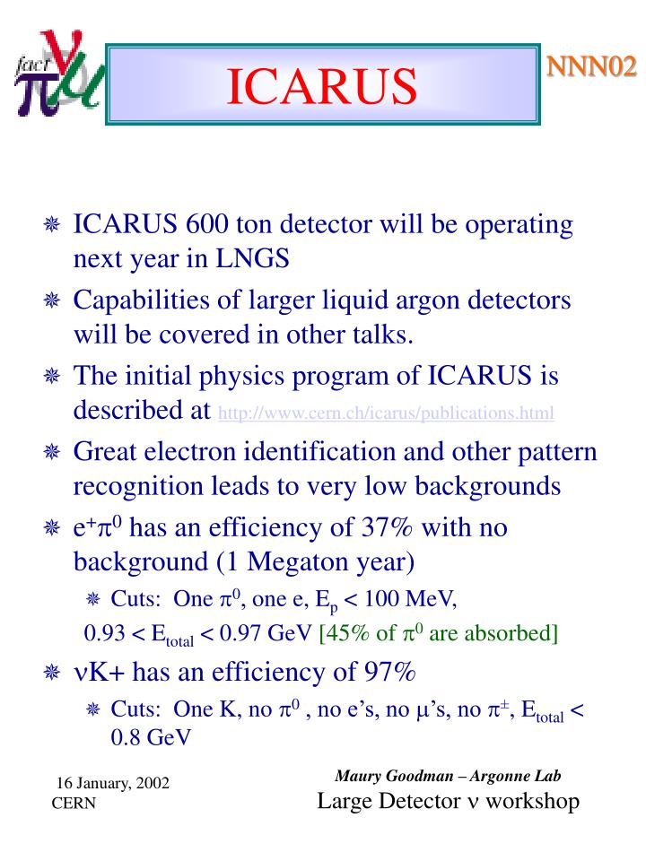 ICARUS 600 ton detector will be operating next year in LNGS