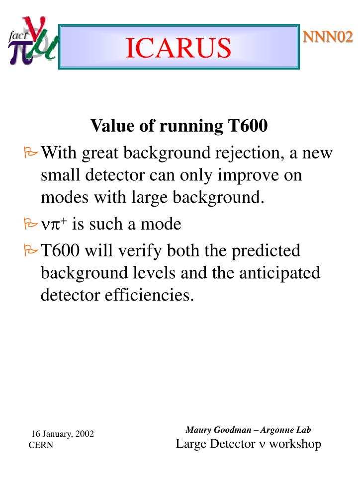 Value of running T600