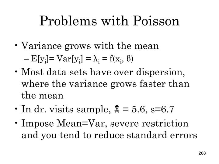 Problems with Poisson