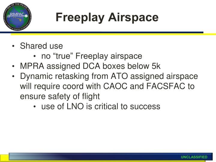 Freeplay Airspace