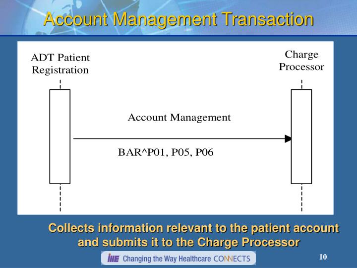 Account Management Transaction