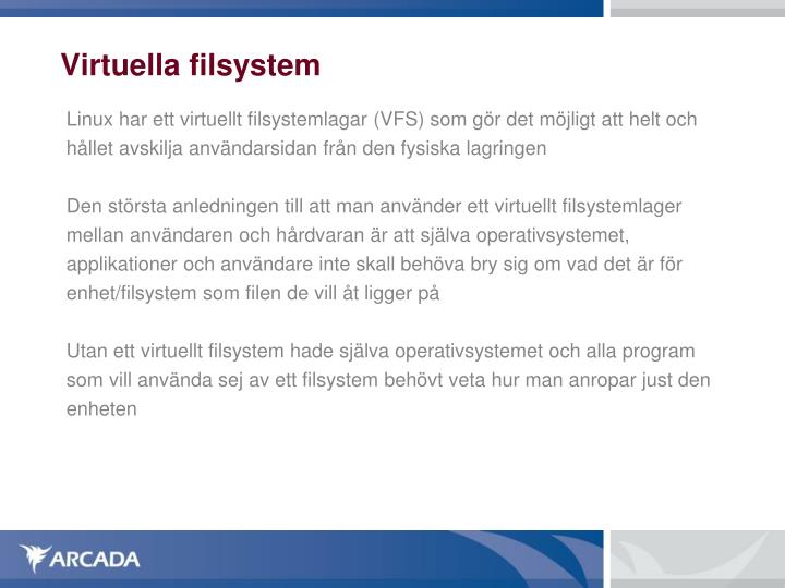 Virtuella filsystem
