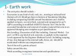 1 earth work
