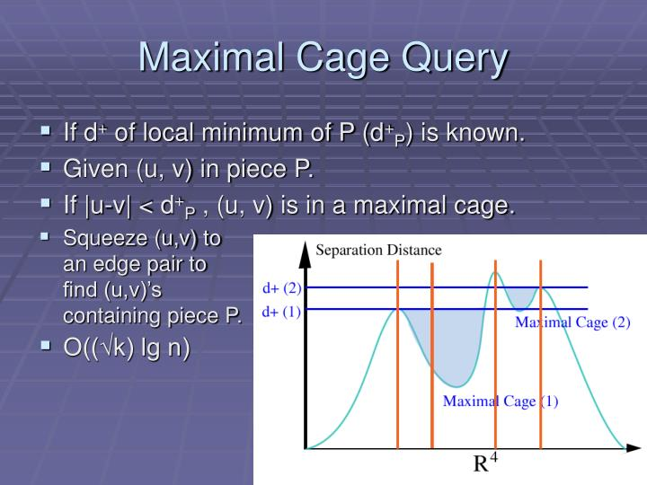 Maximal Cage Query