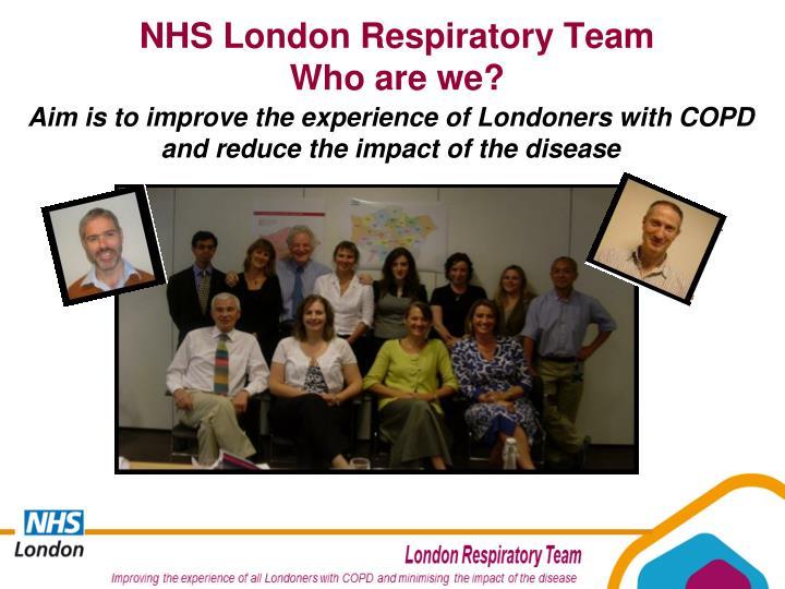 NHS London Respiratory Team