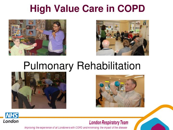 High Value Care in COPD