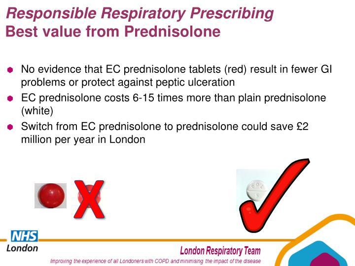 Responsible Respiratory Prescribing