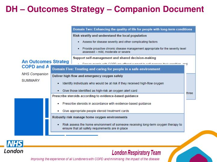 DH – Outcomes Strategy – Companion Document