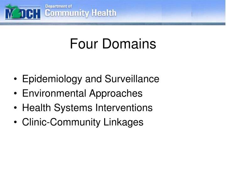 Four Domains
