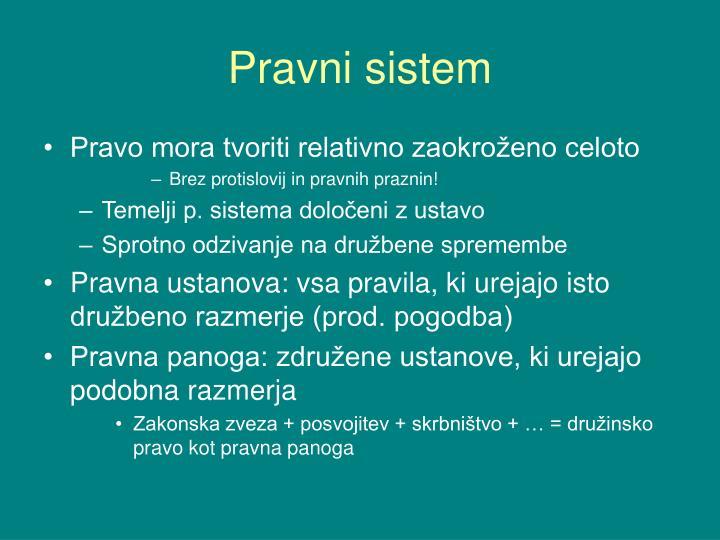 Pravni sistem