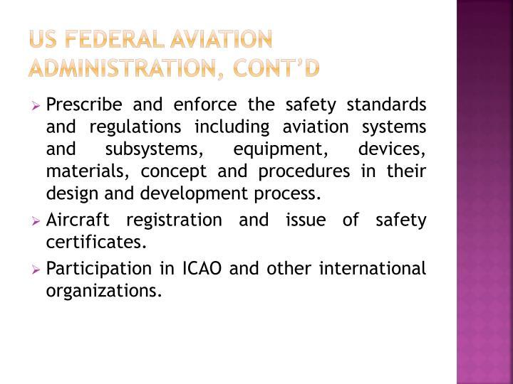 US Federal Aviation