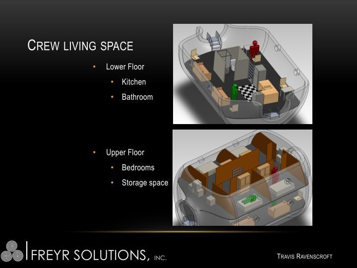 Crew living space