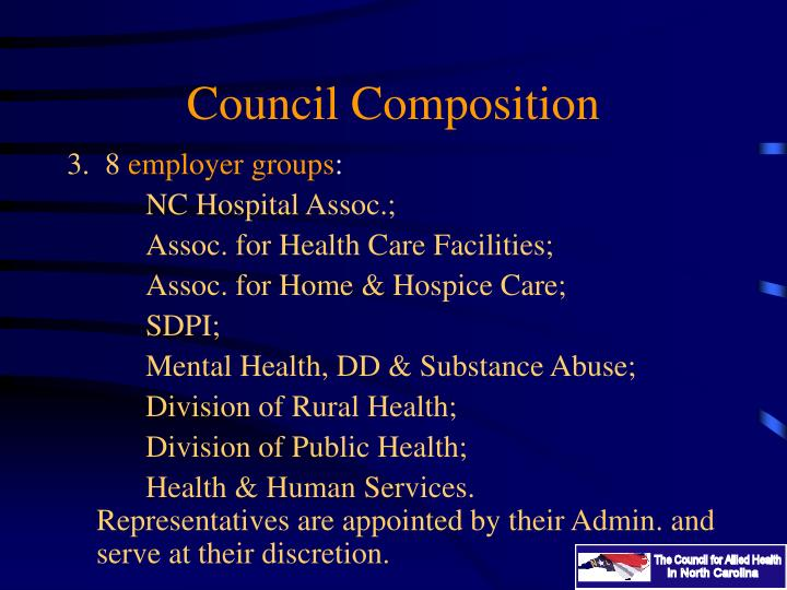Council Composition
