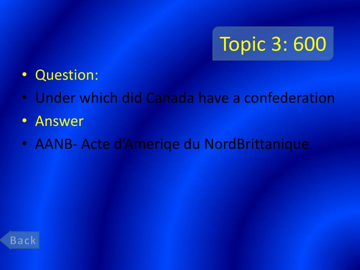 Topic 3: 600