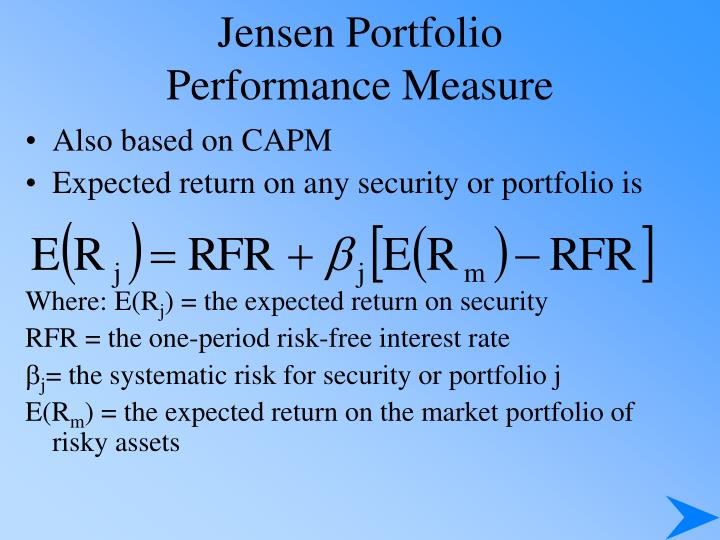 Jensen Portfolio