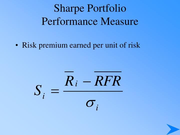 Sharpe Portfolio