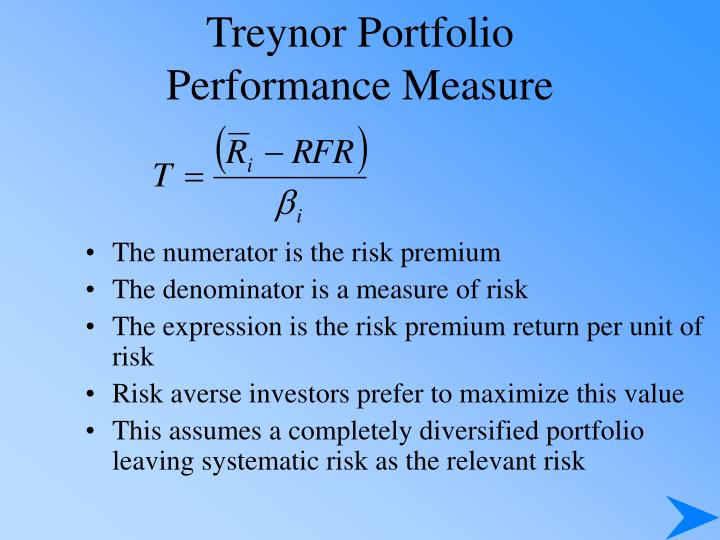 Treynor Portfolio