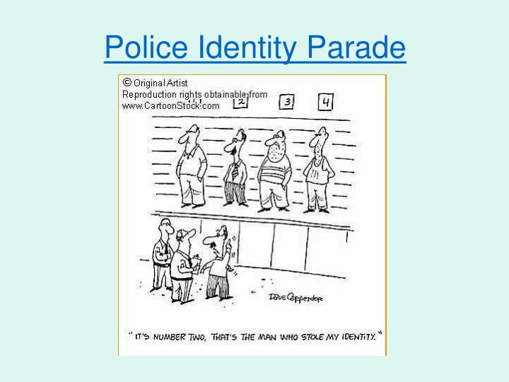 Police Identity Parade