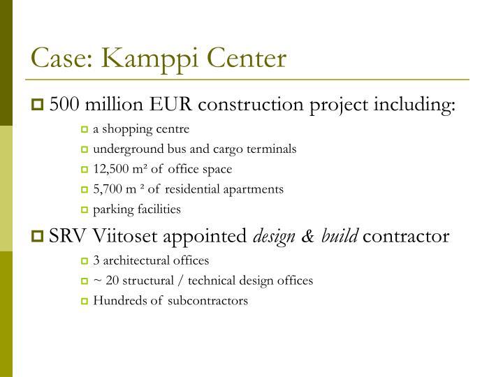 Case: Kamppi Center