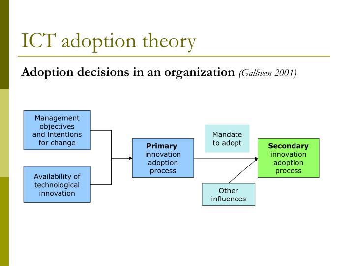 ICT adoption theory