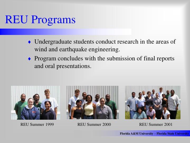 REU Programs