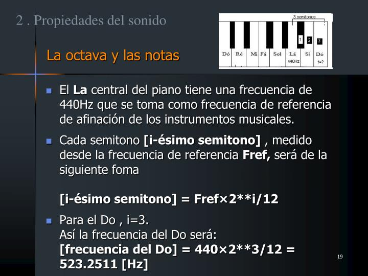 2 . Propiedades del sonido
