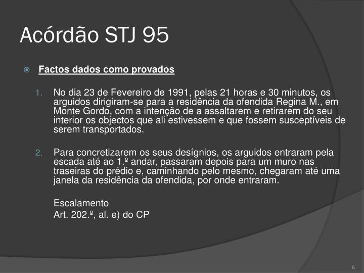 Acórdão STJ 95
