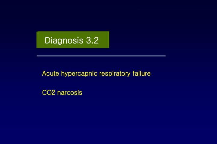 Diagnosis 3.2