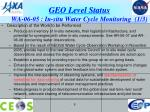 geo level status wa 06 05 in situ water cycle monitoring 1 3