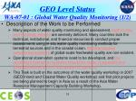 geo level status wa 07 01 global water quality monitoring 1 2