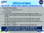 geo level status wa 07 01 global water quality monitoring 2 2