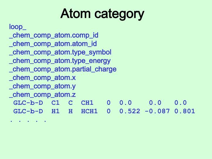 Atom category