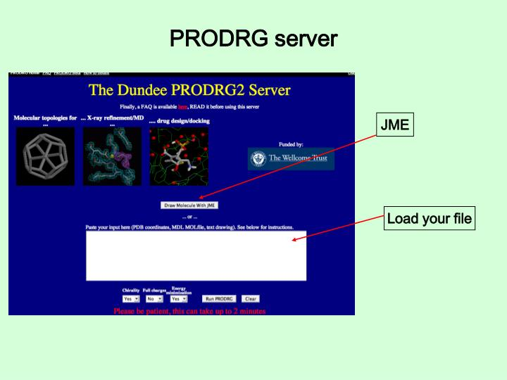 PRODRG server