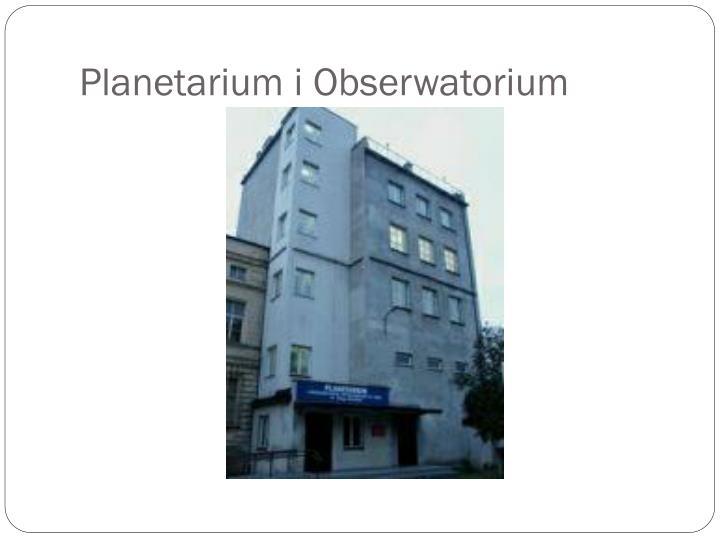 Planetarium i Obserwatorium